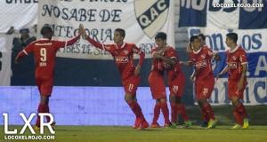 Festejo Independiente vs Quilmes