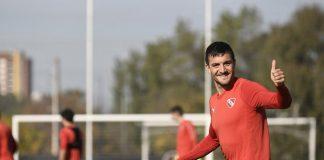 Francisco Pizzini entrenamiento Villa Dominico