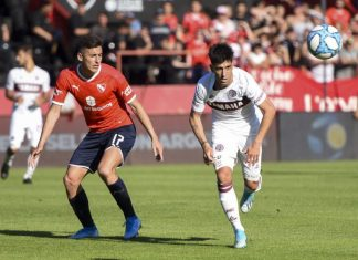 Gaston Togni Independiente vs Lanus