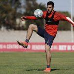 Nicolas Messiniti entrenamiento