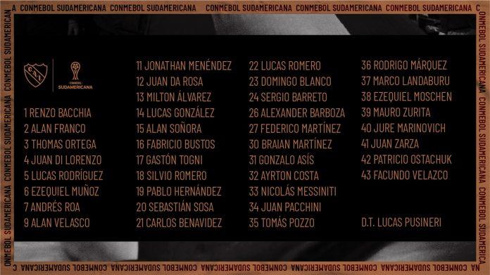 Lista-Sudamericana